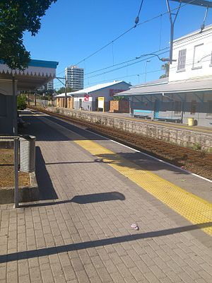 Claremont, Cape Town - Image: Claremont Train Station
