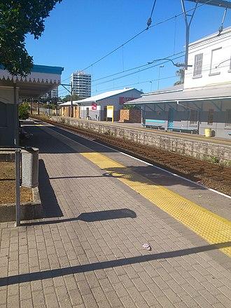 Claremont, Cape Town - Image: Claremont Train Station