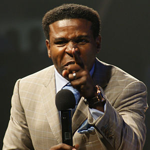 Pinball Clemons - Clemons speaking at We Day Waterloo 2010, a Free the Children event