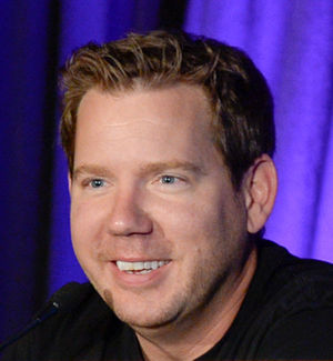 Cliff Bleszinski - Bleszinski presenting at the 2016 Game Developers Conference