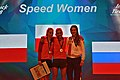 Climbing World Championships 2018 Speed Final Woman winners (BT0A6765).jpg