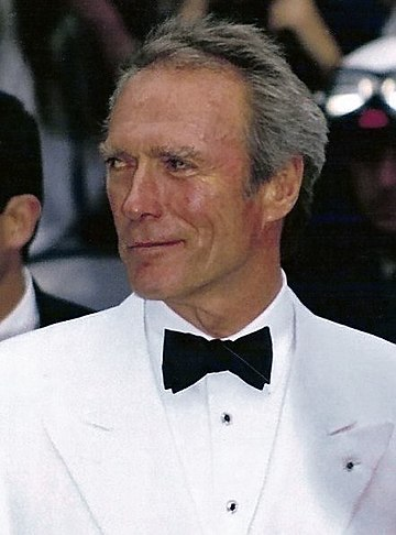 Eastwood at the 1993 Cannes Film Festival Clint Eastwood Cannes 1993.jpg