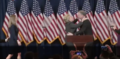 Clinton walking on stage to deliver her concession speech 01.png