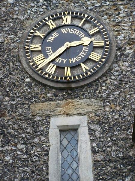 File:Clock Face on St Michael's Church - geograph.org.uk - 1065862.jpg