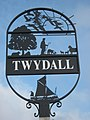 Close-up of Twydall Village Sign - geograph.org.uk - 2238929.jpg