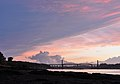Clouds above Tamar bridges.jpg