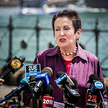 Clover Moore speaks at the media.jpg