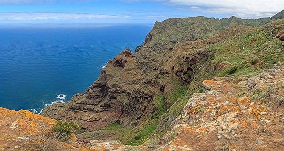 Coast at Chinamada, Tenerife, Canary Islands, Spain