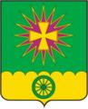 Coat of Arms of Novovelichkovskoe (Krasnodar krai).png