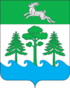 Coat of arms Konakovo (Tver oblast) Russia 2007.png
