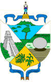 Coat of arms of Petén Department