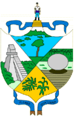 Petén Department - Image: Coat of arms of Peten Department