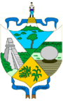 Coat of arms of Peten Department.png