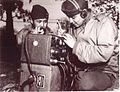 Code talkers at work, Australia, July 1943 (7973459540).jpg