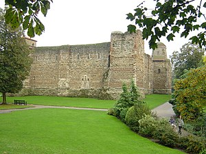 Colchester Castle - Colchester Castle, rear from north-west