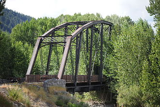 National Register of Historic Places listings in Blaine County, Idaho - Image: Cold Springs Bridge