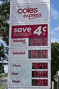 Coles Express Prices, Wallsend.jpg