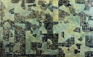 calendar found in Coligny, Ain, France in 1897
