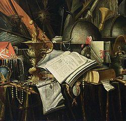 Evert Collier: Vanitas Still-Life