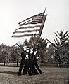 Colors and Color Guard, U.S. Naval Academy, Annapolis, Maryland, October 31, 1942 (26430610288).jpg