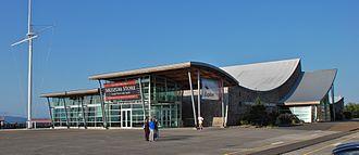 Columbia River Maritime Museum - The Columbia River Maritime Museum in 2012