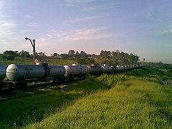 Comboio parado na Variante Boa Vista-Guaianã km 201 em Itu - panoramio
