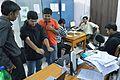 Conference Preparation - Bengali Wikipedia 10th Anniversary Celebration - Jadavpur University - Kolkata 2015-01-07 2308.JPG