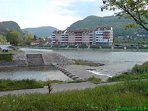 Mileševka - The confluence of Mileševka in Lim