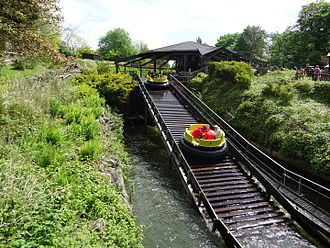 Congo River Rapids - Lift hill