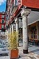 Conjunto Histórico de Valladolid, columnas viejas de la Plaza Mayor.jpg