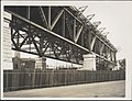 Construction of Span One and Two of the Sydney Harbour Bridge, 1927 (8282700537).jpg