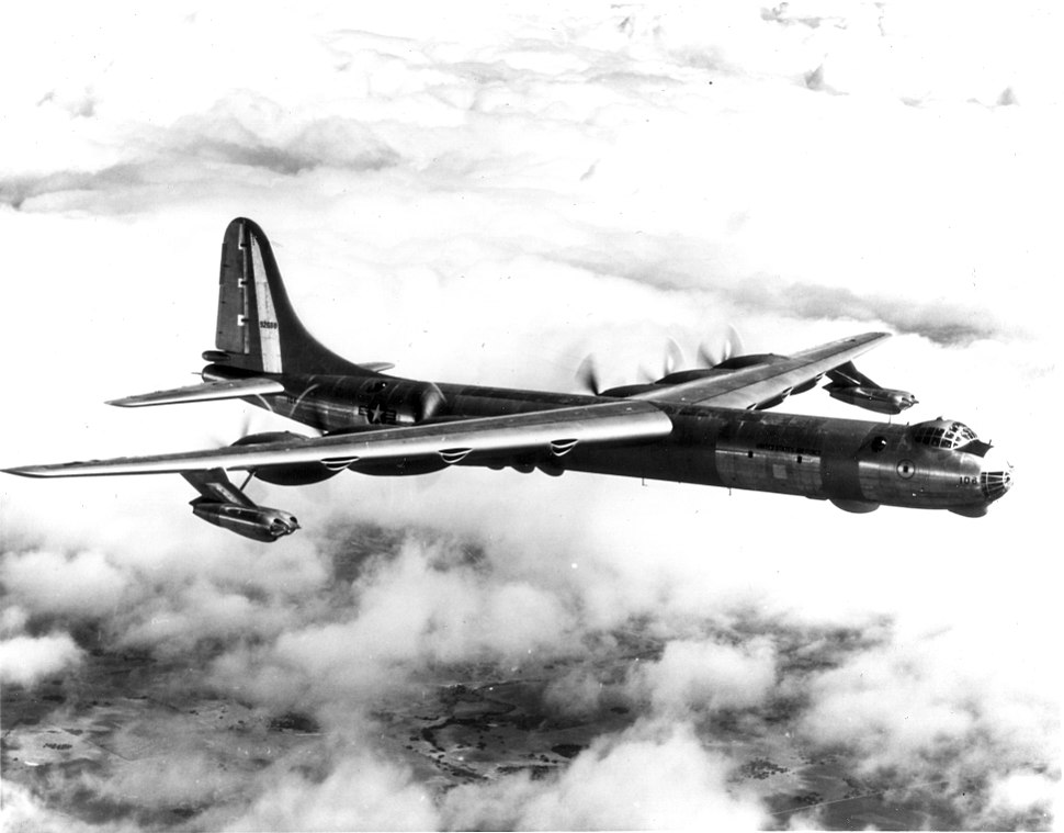 Convair B-36 Peacemaker in flight