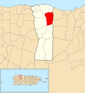 Corcovado, Hatillo, Puerto Rico Barrio of Puerto Rico