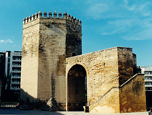 Albarrana tower - Torre de la Malmuerta in Cordoba (Spain)