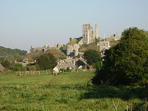 History of Poole - Corfe Castle was besieged and captured by the Parliamentary garrison from Poole during the English Civil War.