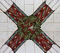 Cormery abbaye clé de voûte du réfectoire.jpg