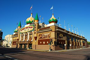 Mitchell, South Dakota - Corn Palace in Mitchell