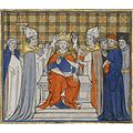 Coronation of Louis VI at Laon - Sotheby's 7july2009 lot3.jpg