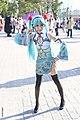 Cosplayer of Hatsune Miku at CWT42 20160213.jpg
