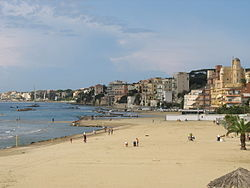 Panorama of Nettuno