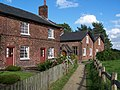 Cottages and path, Styal village - geograph.org.uk - 416390.jpg