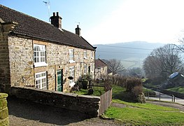Cottages in Hawnby (geograph 6061605).jpg