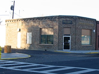 Coulee City, Washington - City hall