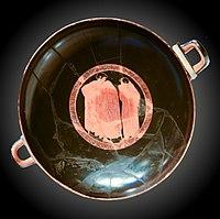 Coupe (Médaillon central) – MSR – Rituels Grecs – inv 26126 Cp 11281.jpg