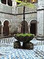 Courtyard of Palácio Nacional da Pena P1000446.JPG