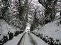 Cowling Lane in winter - geograph.org.uk - 1424324.jpg