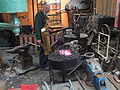 Craft blacksmith at Anson 5995.JPG