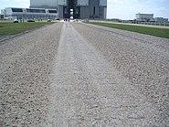 Crawlerway toward VAB