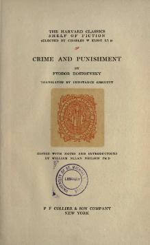 Crime and Punishment - Garnett - Neilson - 1917.djvu