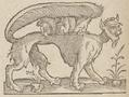 Criptídeo de Frei André Thevet 1558.png